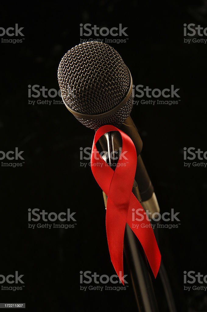 Aids Care Support royalty-free stock photo