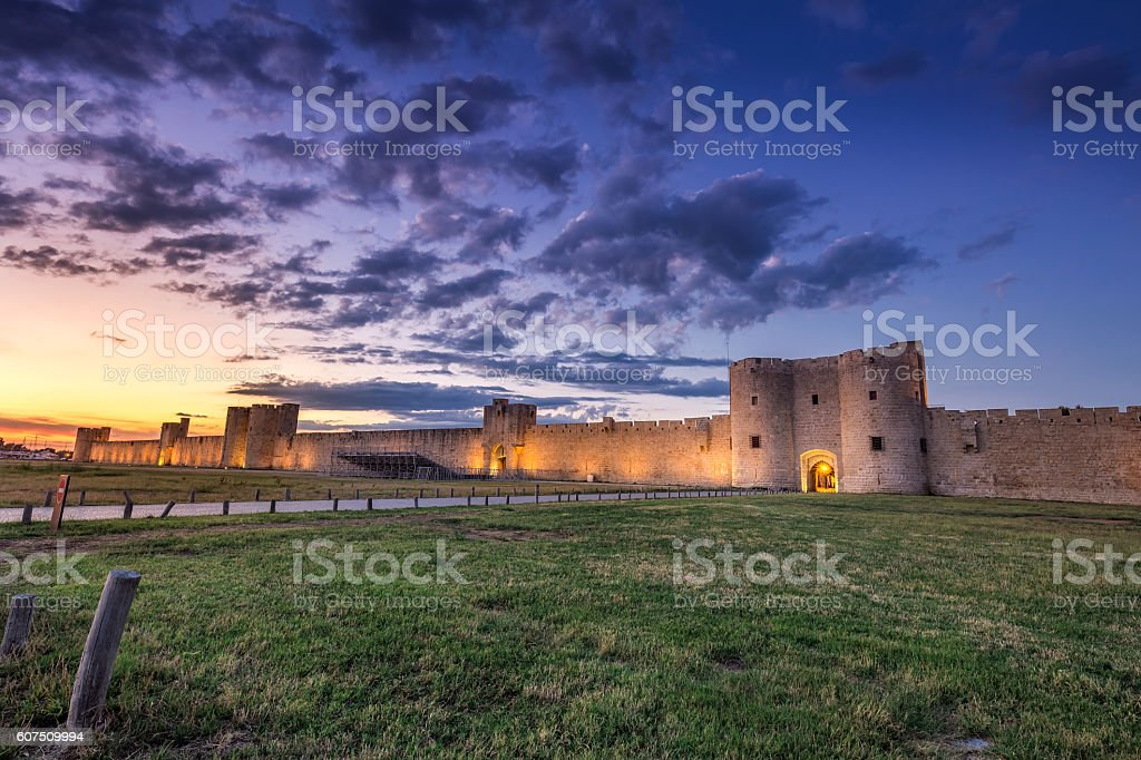 Aigues-Mortes stock photo