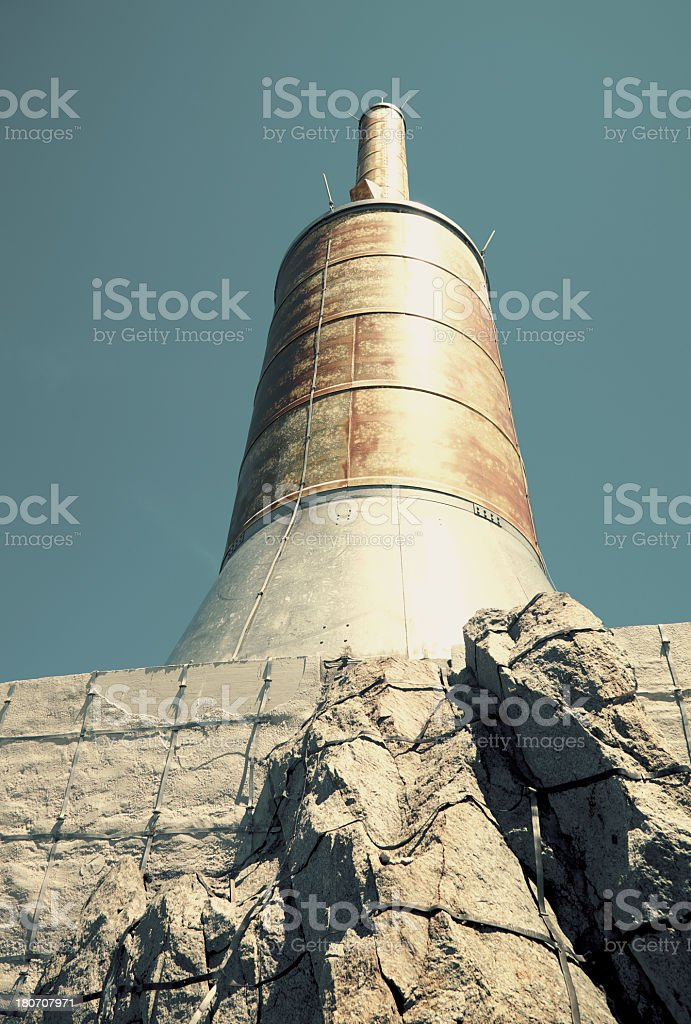 Aiguille du Midi royalty-free stock photo
