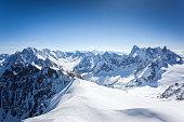 Aiguille du midi viewing platform, Mont Blanc, Chamonix, France