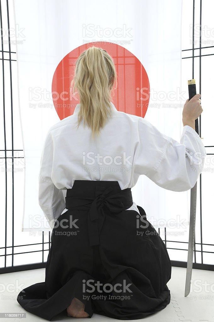Aikido essence royalty-free stock photo