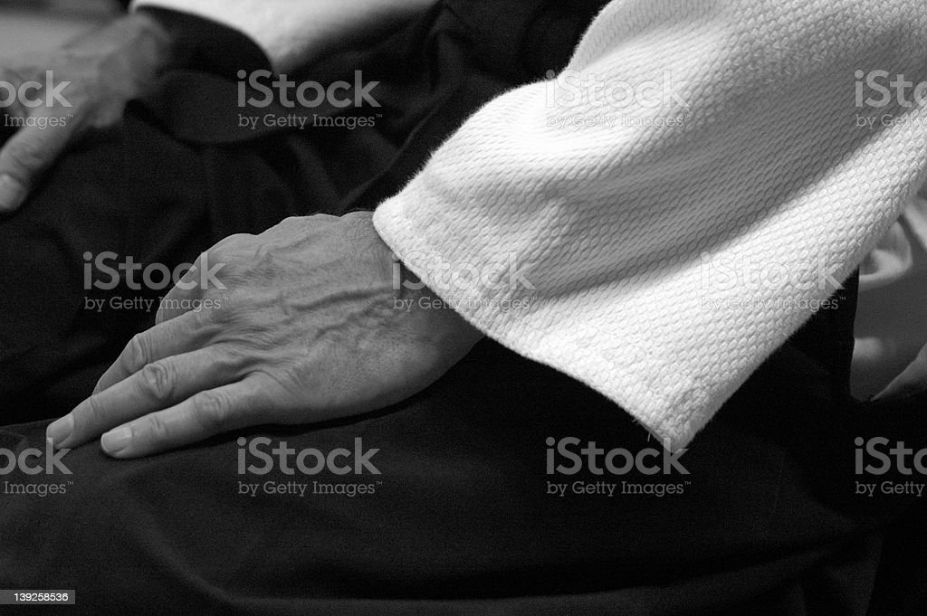Aikido Hand stock photo