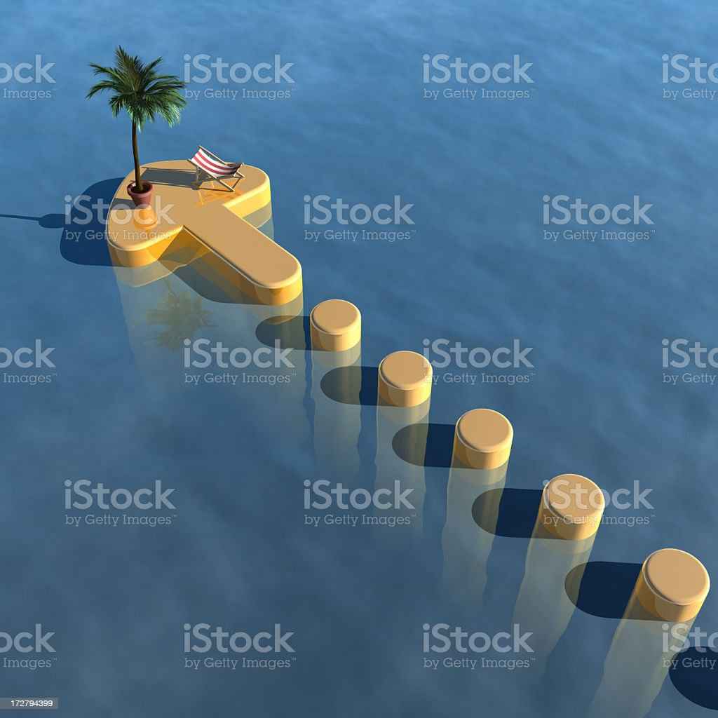 Aiming for Success XXL royalty-free stock photo