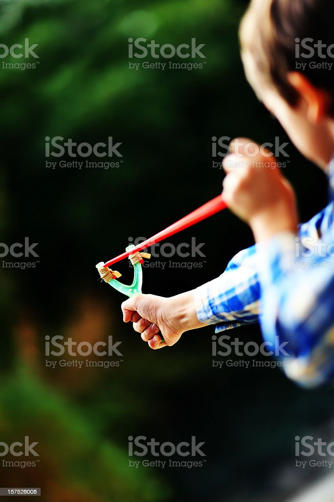 Aiming royalty-free stock photo