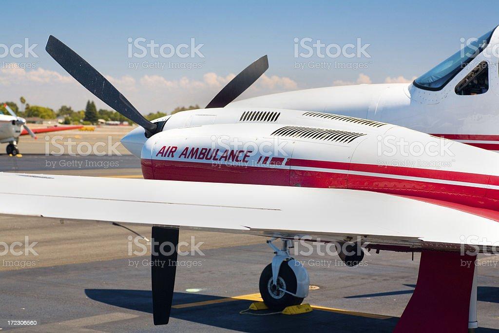 Air Ambulance stock photo
