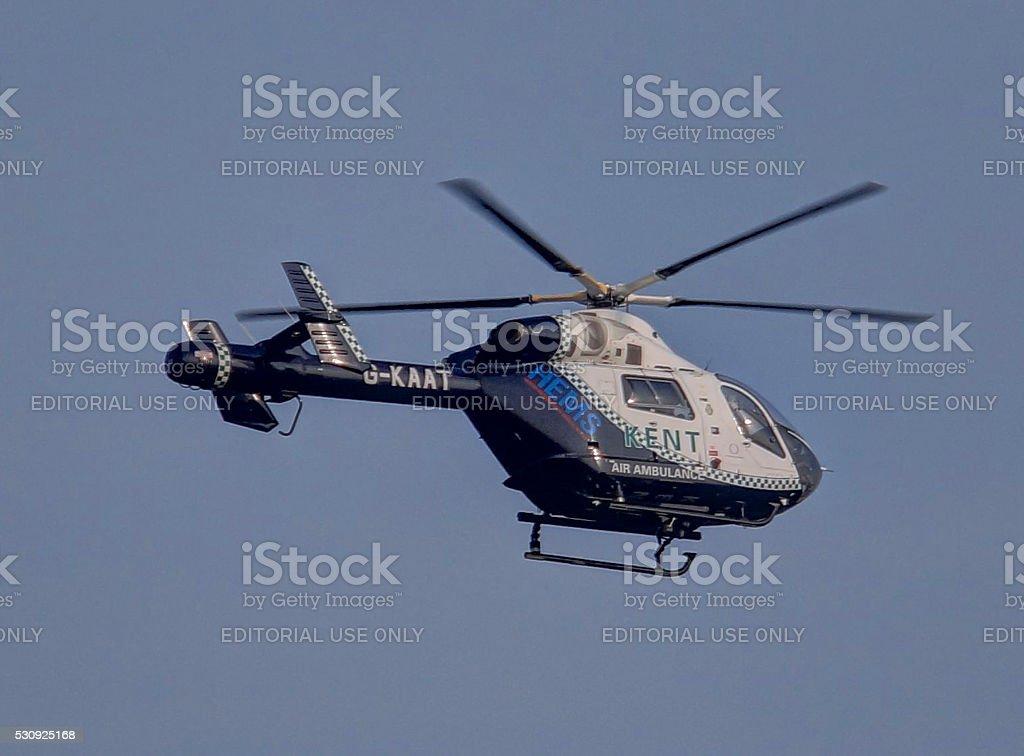 Air ambulance. stock photo