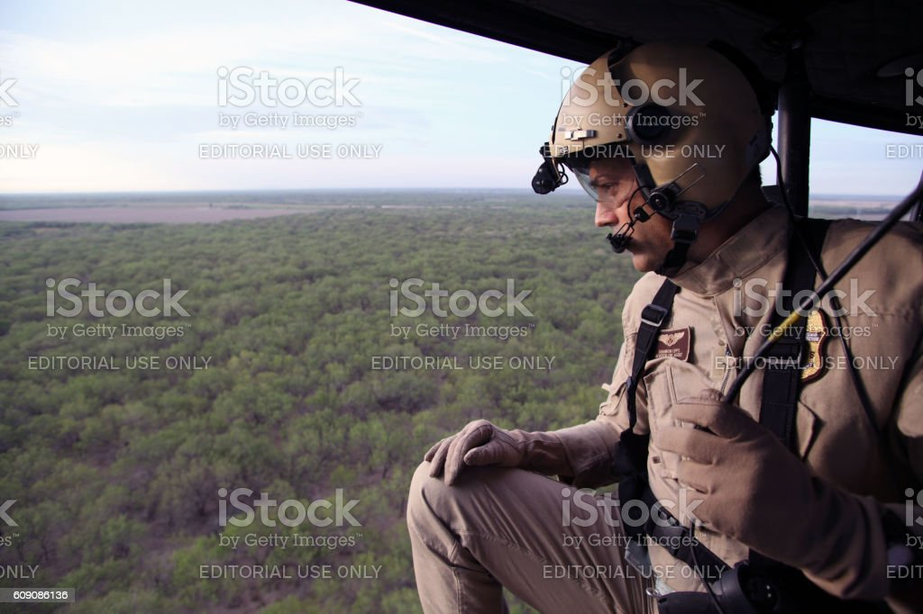 Air and Marine Operations, McAllen, Texas, Sept. 22, 2016 stock photo