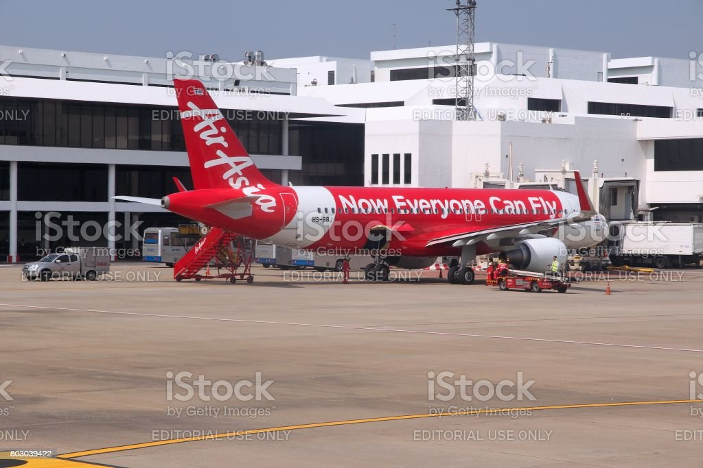 Air Asia Airbus stock photo