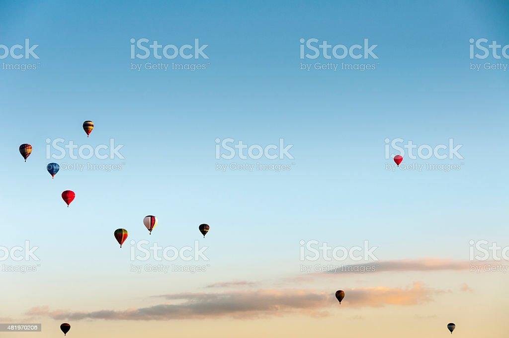 Air Balloon Display stock photo