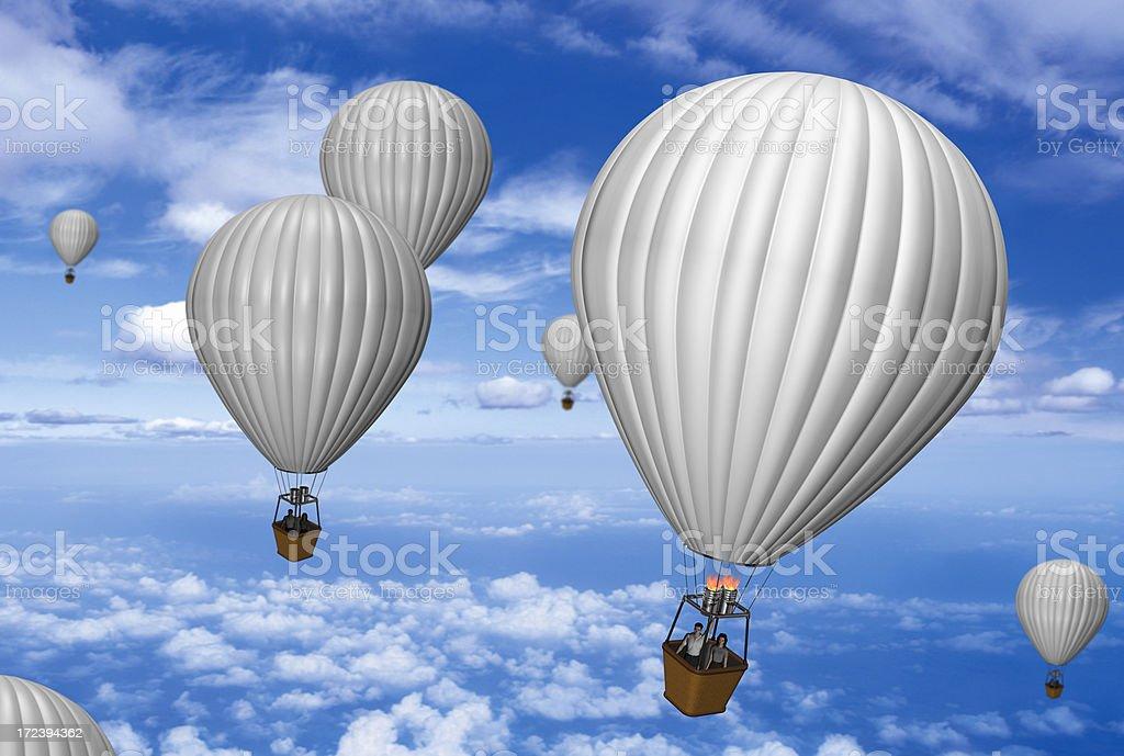 air balloons royalty-free stock photo