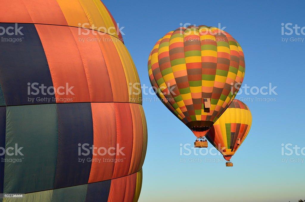air balloons stock photo
