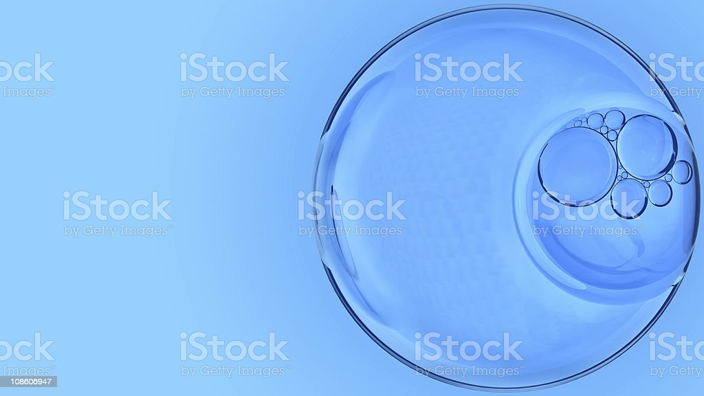 Air bubbles royalty-free stock photo