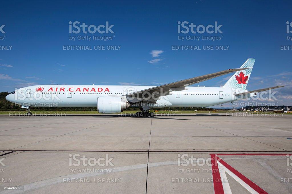 Air Canada Boeing 777-300/ER stock photo