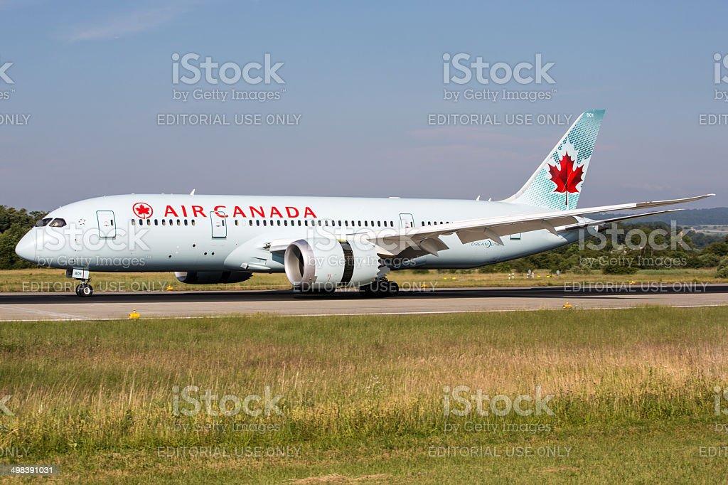 Air Canada Boeing 787 Dreamliner stock photo