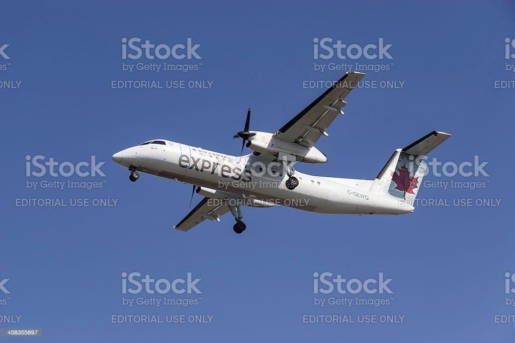 Air Canada Express airplane royalty-free stock photo