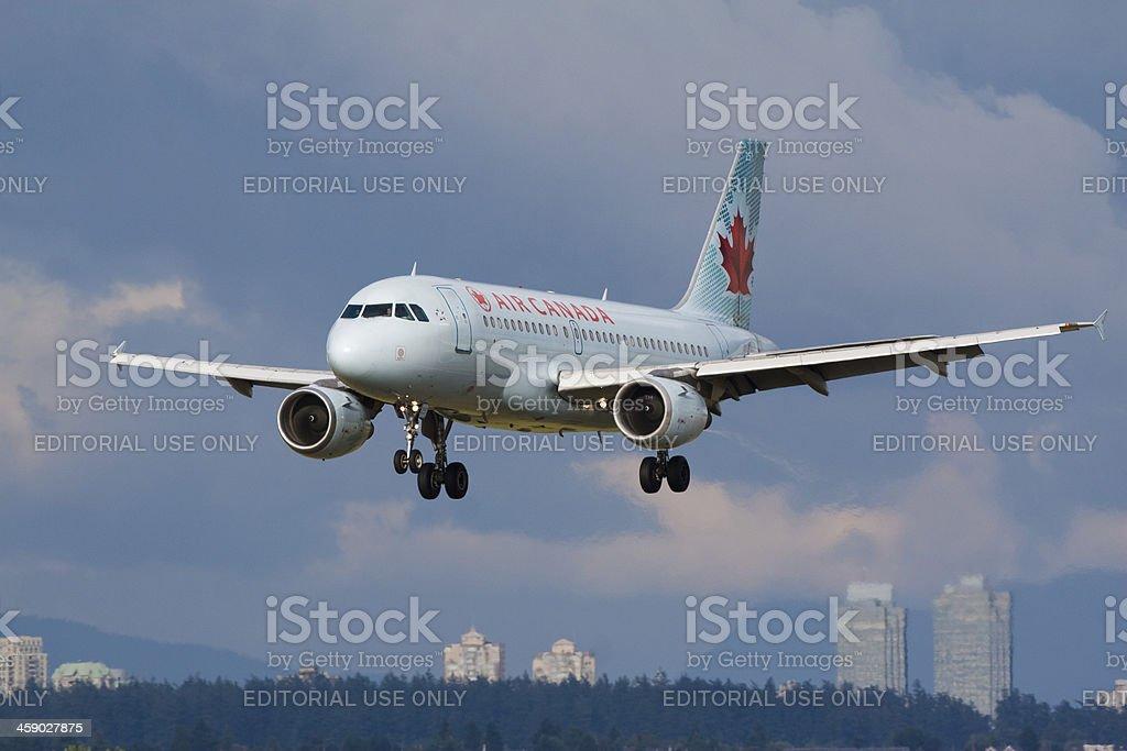 Air Canada royalty-free stock photo