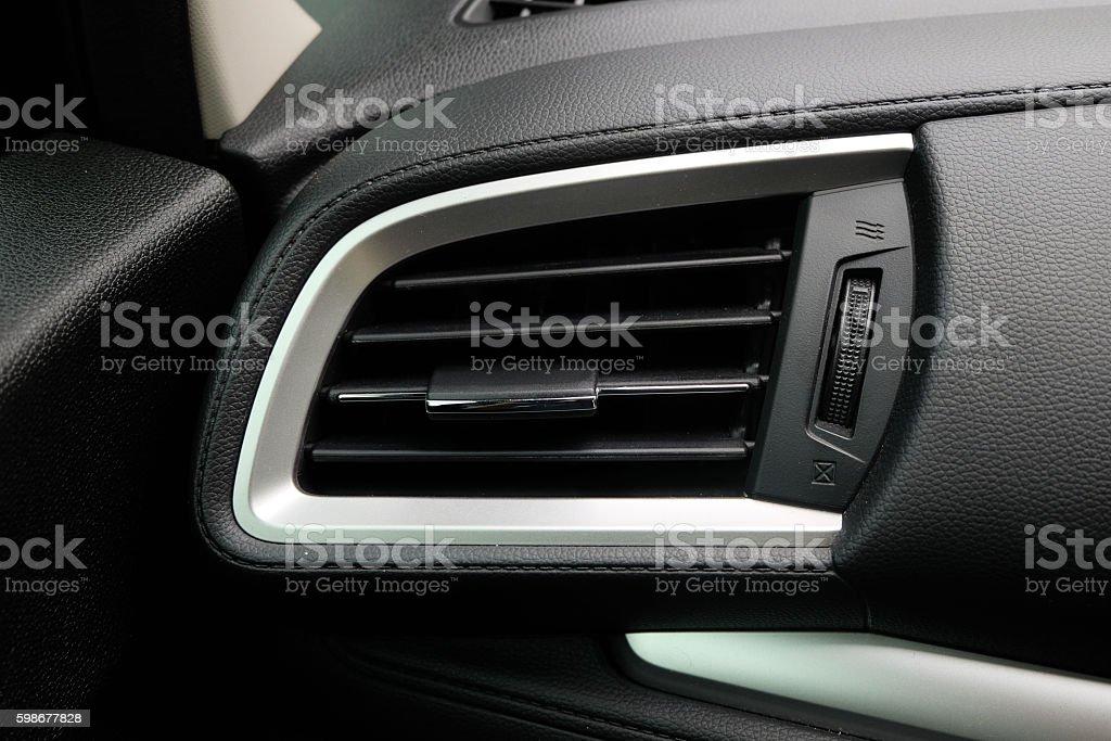 Air car stock photo