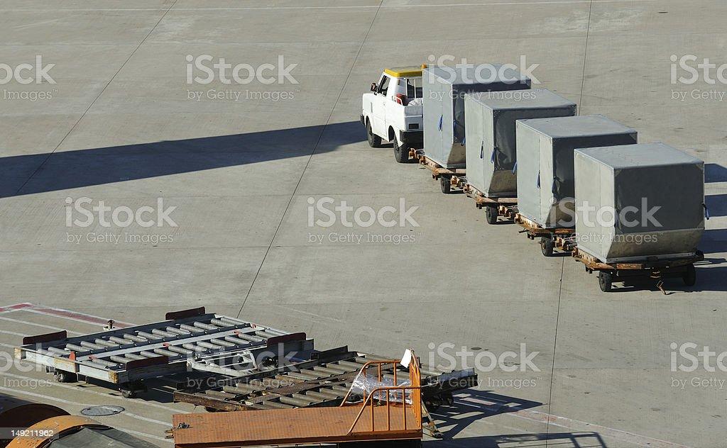 Air cargo stock photo