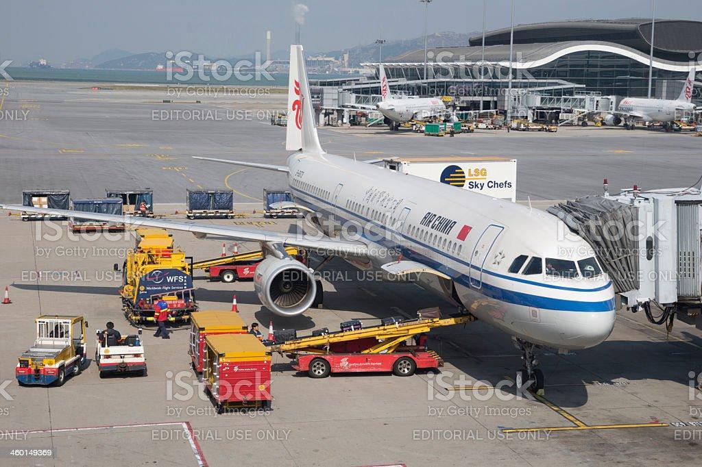 Air China Airbus A321 stock photo