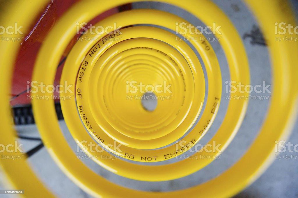 Air Compressor Hose stock photo