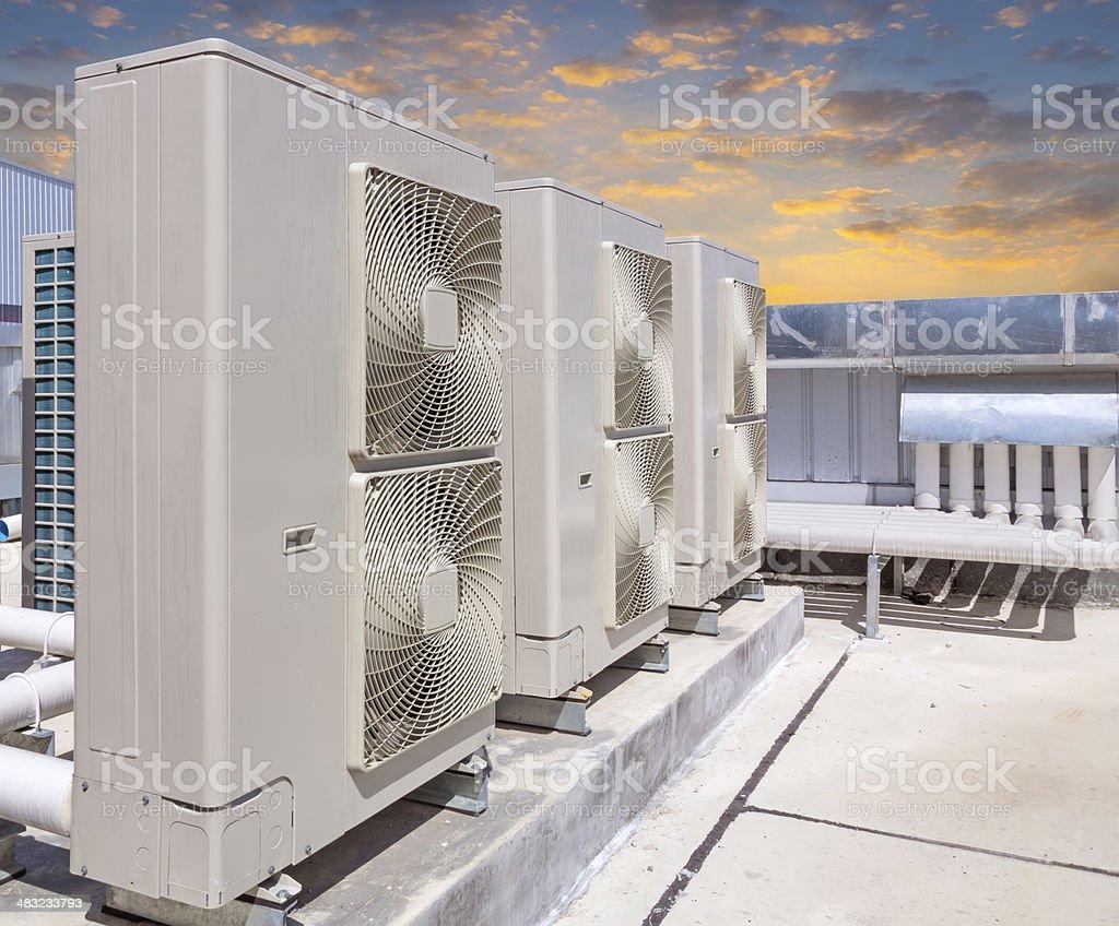 air compressor stock photo