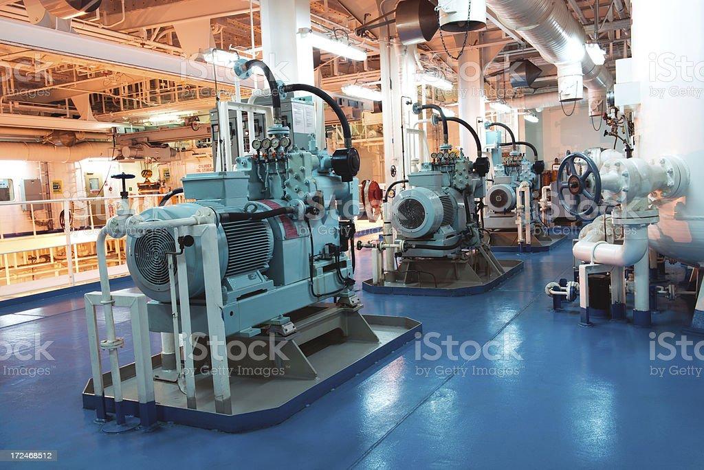 Air Compressor Set stock photo