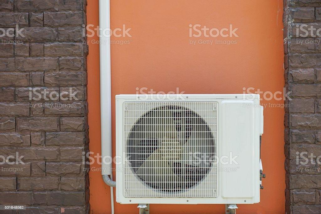 Air condenser stock photo