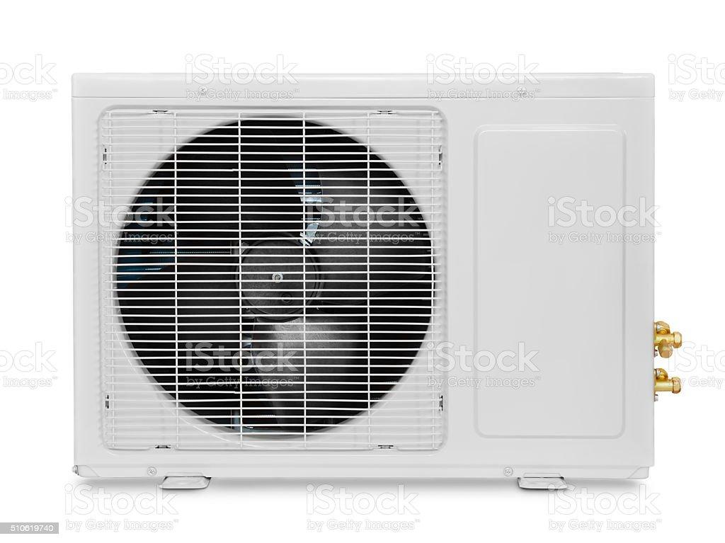 Air condition compressor stock photo