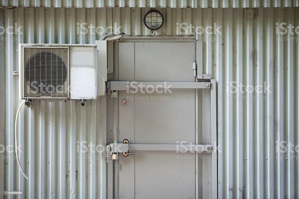 Air condition equipment stock photo