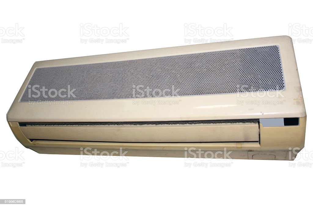 air condition filter dust dirty stock photo