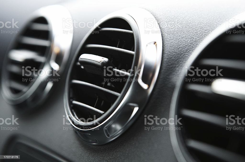 Air Condition in car royalty-free stock photo