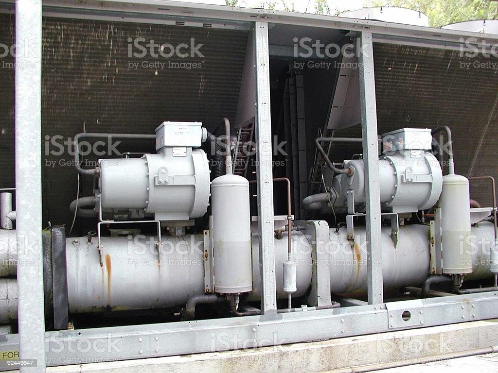 Air condition Unit stock photo
