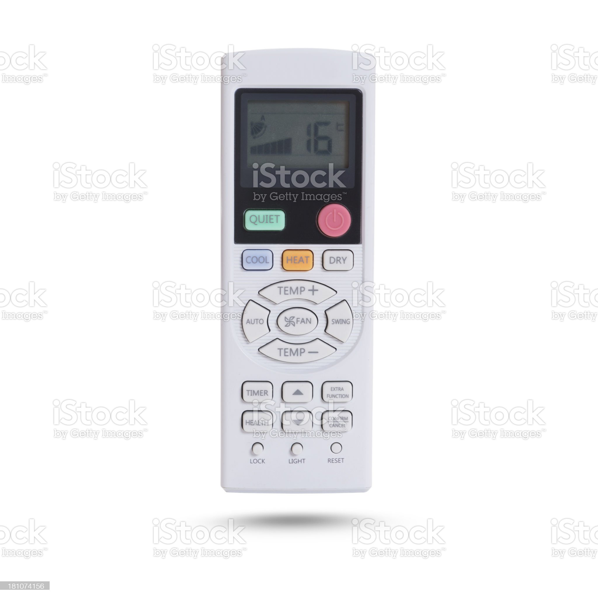 air conditionater remote control royalty-free stock photo