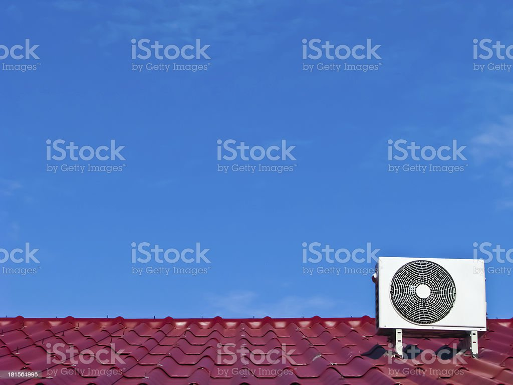 air conditioner compressor stock photo