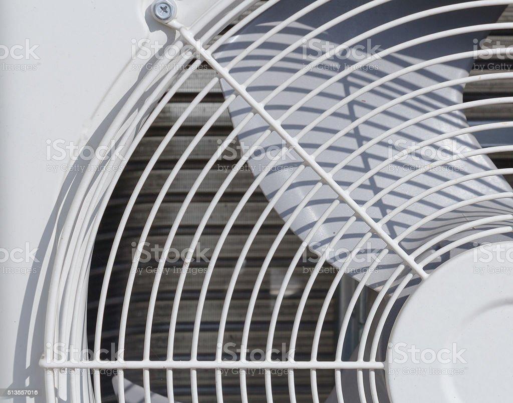 air conditioner fan unit stock photo