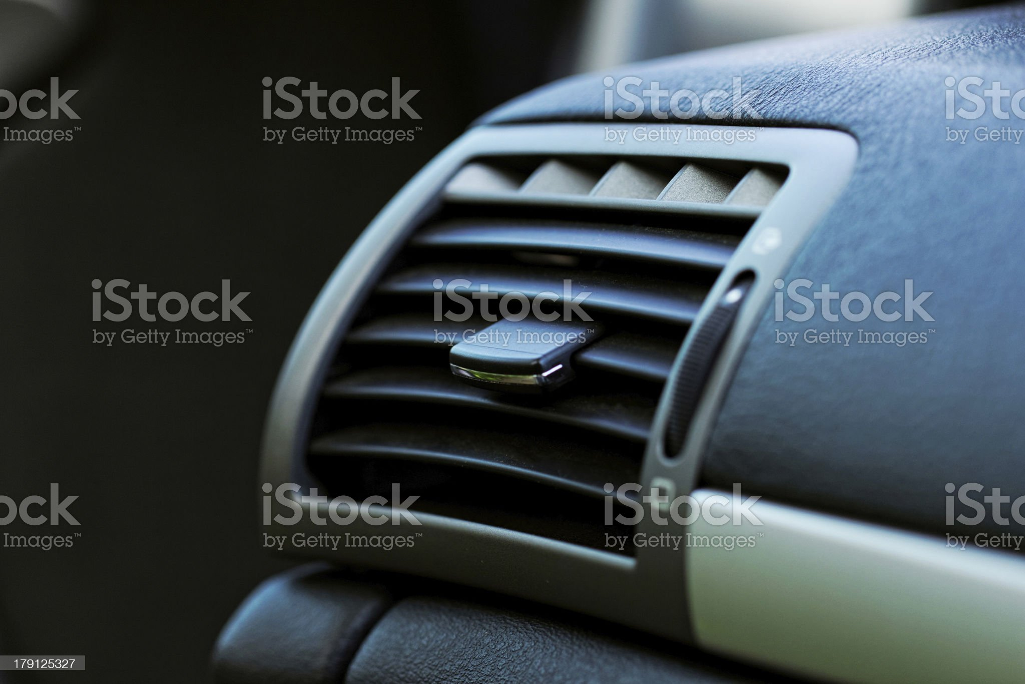 Air conditioner in compact car royalty-free stock photo