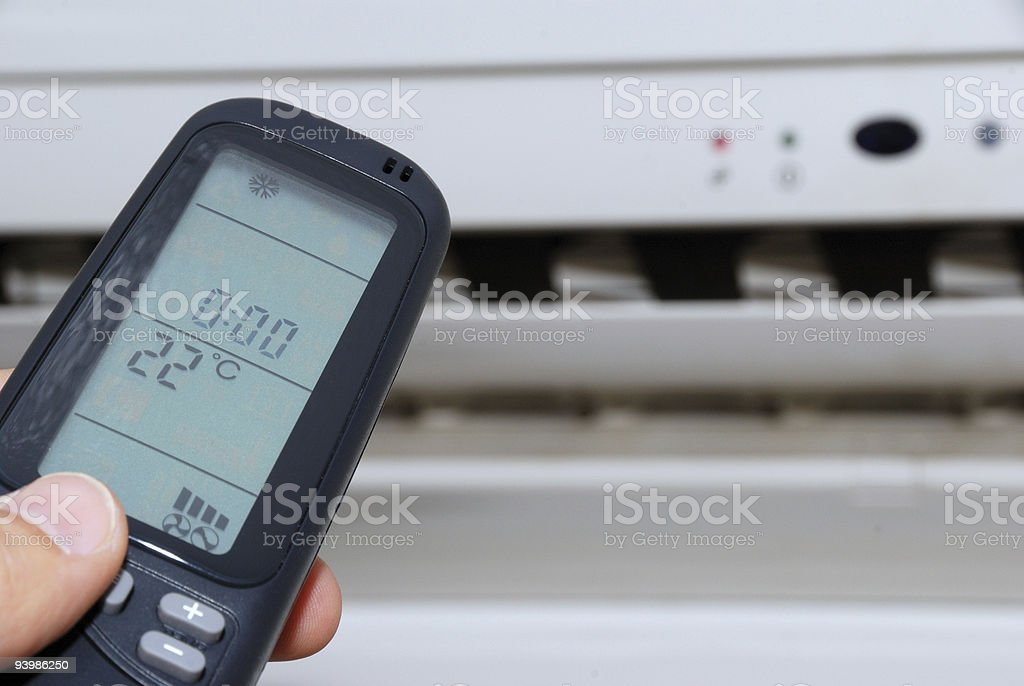 Air conditioner royalty-free stock photo