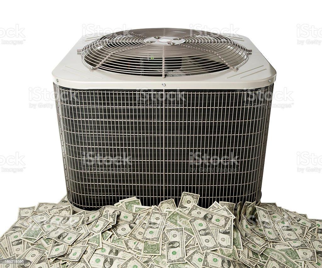 Air Conditioner Savings stock photo
