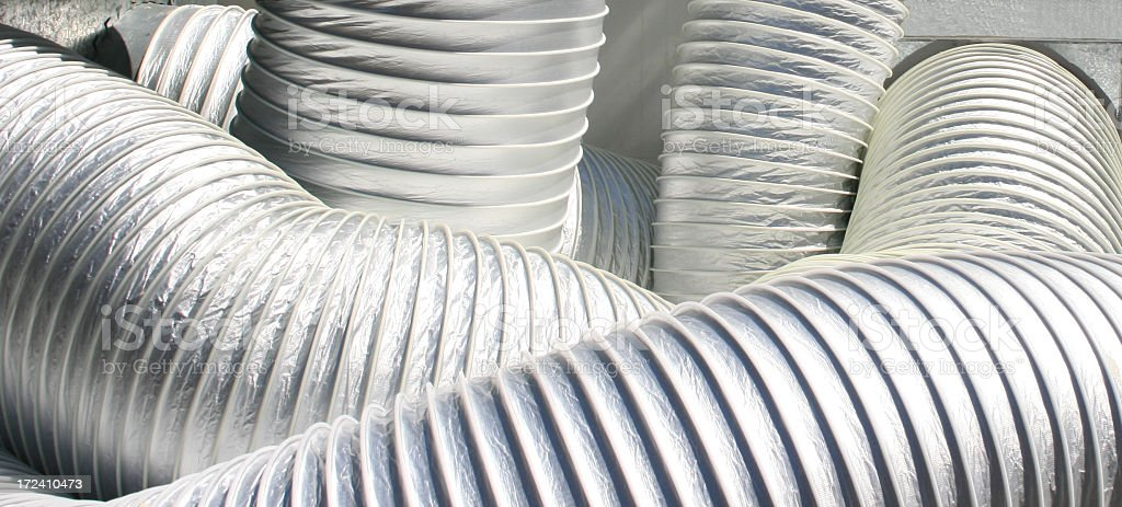 Air Conditioner Tube royalty-free stock photo