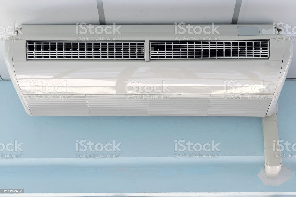 air conditioner type hang stock photo