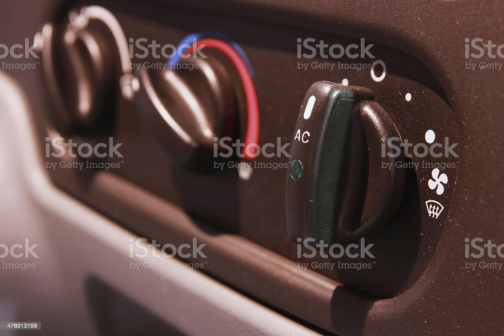 Air conditioner van royalty-free stock photo
