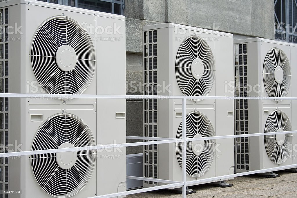 Air conditioners royalty-free stock photo