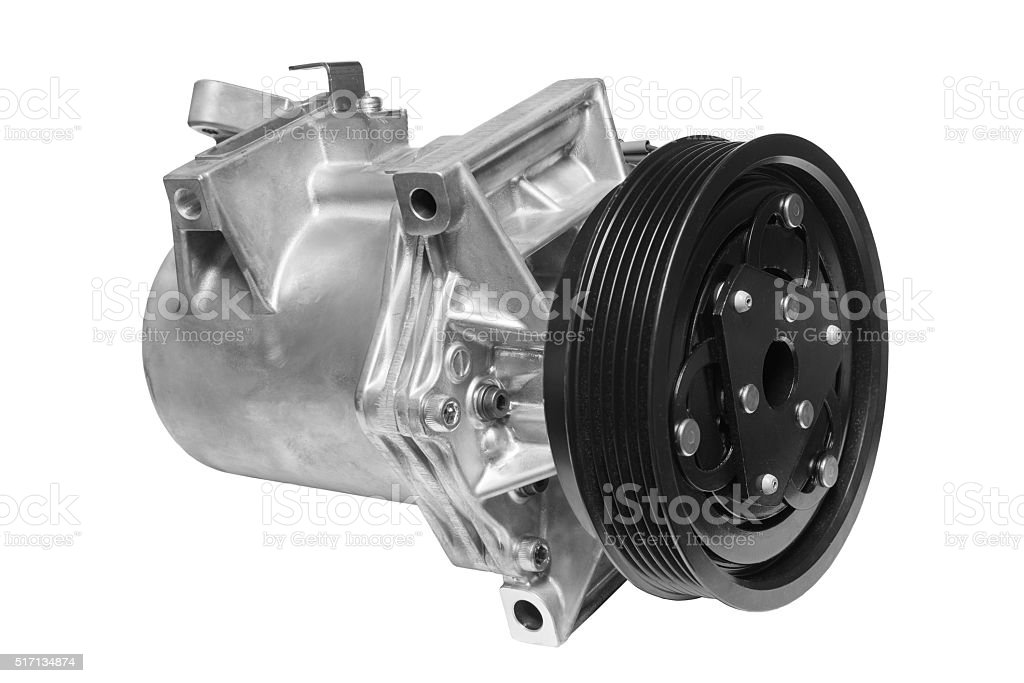 Air conditioning compressor stock photo