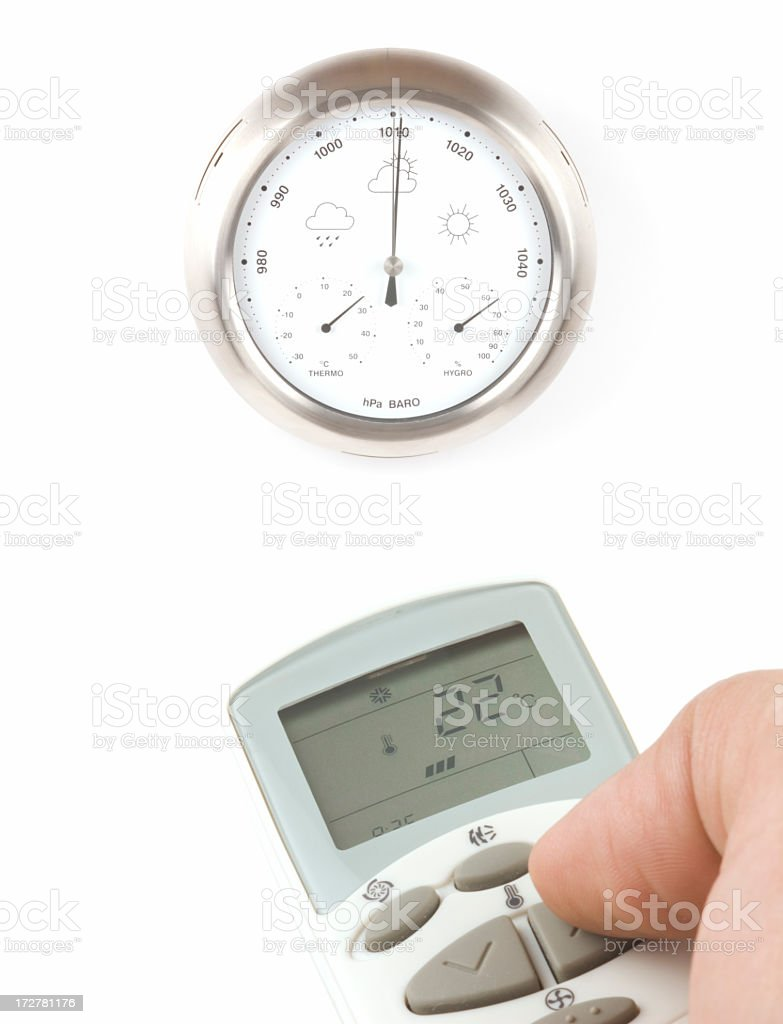 Air Conditioning Concept stock photo