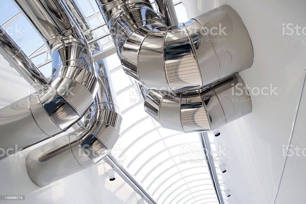 Air Conditioning Ducts royalty-free stock photo