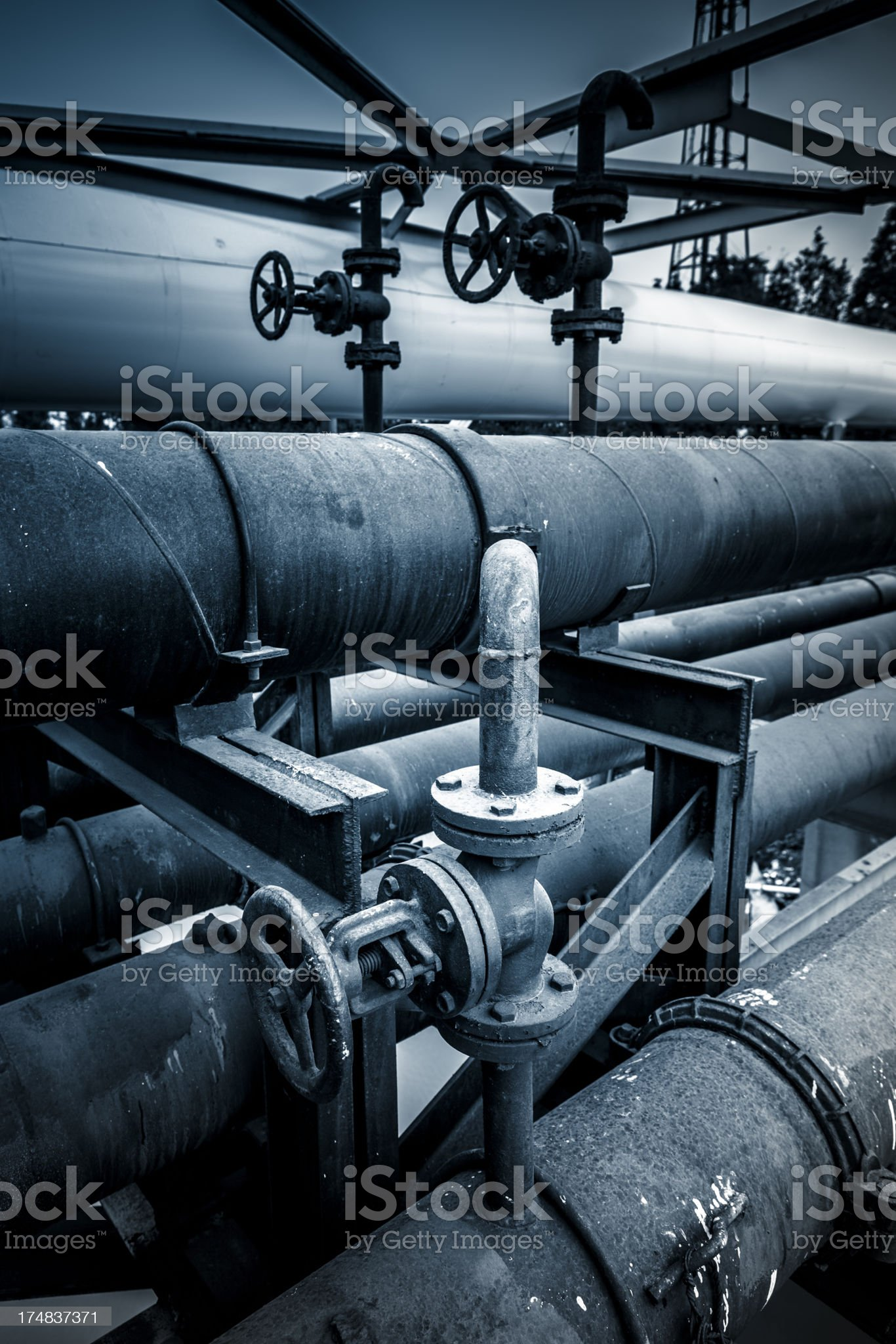 air conditioning systems royalty-free stock photo