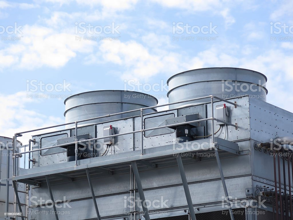 Air conditioning unit stock photo