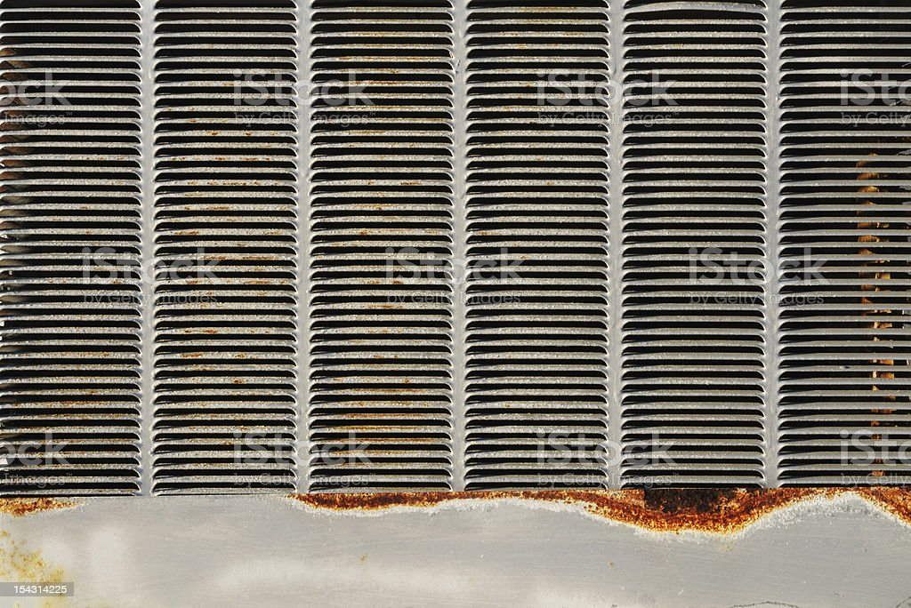 Air Conditioning Wall Unit royalty-free stock photo