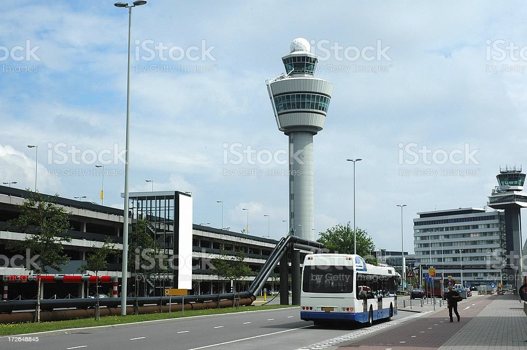 Air control tower royalty-free stock photo