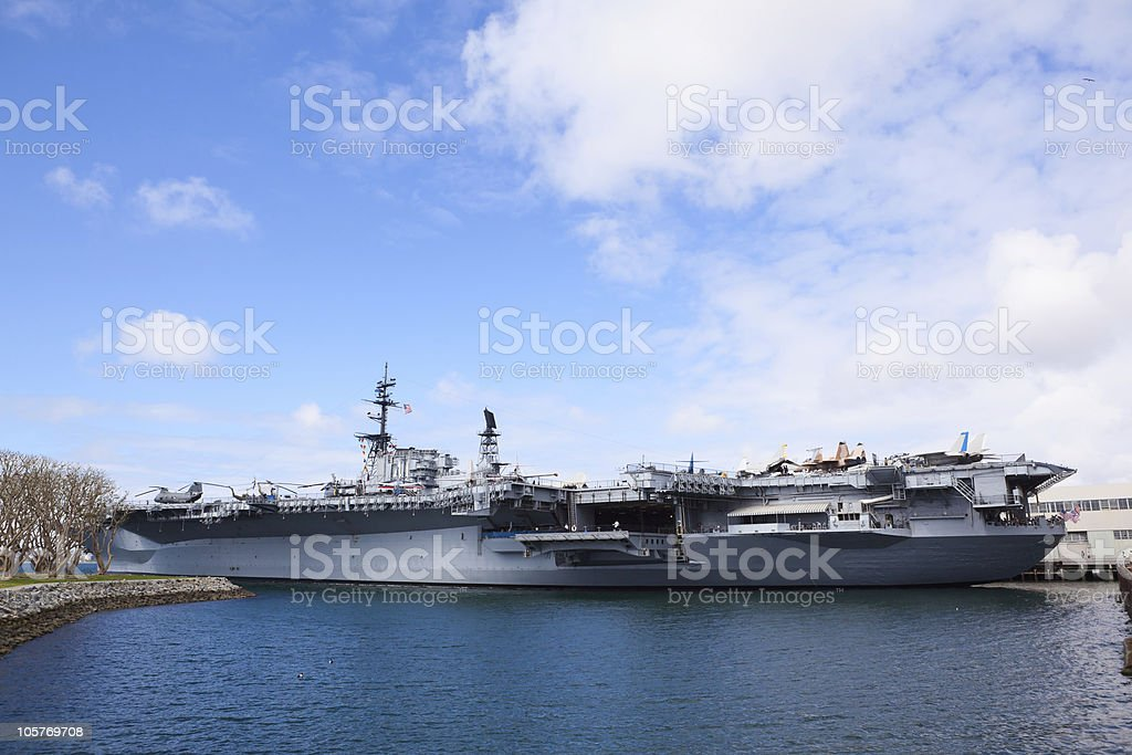 Air Craft Carrier stock photo